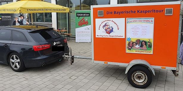 Kinderprogramm auf Rädern: So ist die Bayerische Kasperltour unterwegs!