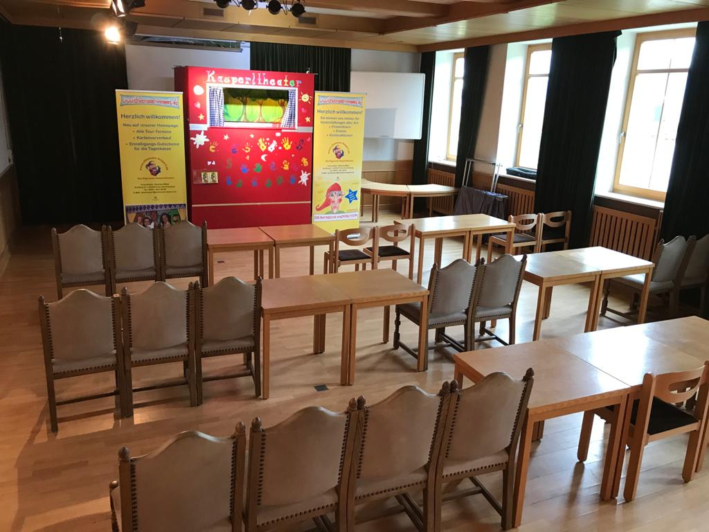 Der Alte Sitzungssaal im Haus des Gastes Bernau am Chiemsee gehört jetzt den Kindern!
