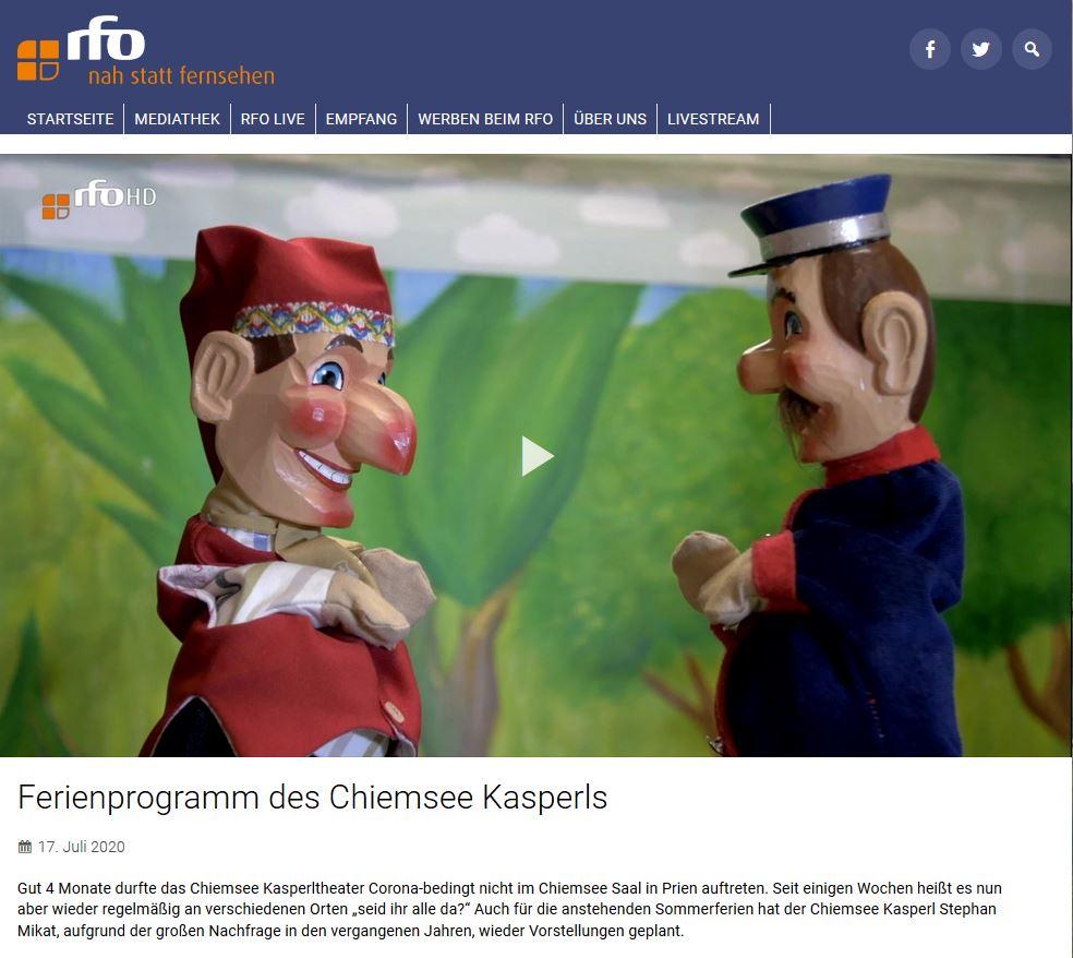 Auch das Regionalfernsehen Oberbayern berichtet über unsere Sommer-Tour!